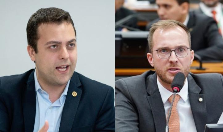 Ricardo Mellão e Vinicius Poit (NOVO-SP)