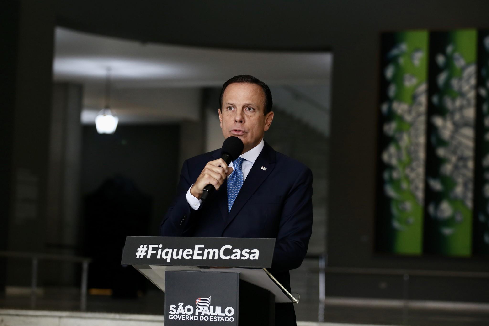 Governo amplia quarentena até 10 de maio em todo Estado de São Paulo