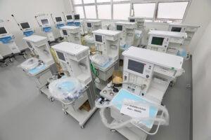 Governo de São Paulo distribui mais 111 respiradores para capital e interior