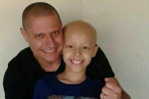 Pai de paciente do Boldrini encontra forças no filho na luta contra o câncer
