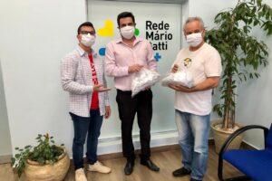 Máscaras de tecido para Hospital Mário Gatti