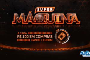KaBuM! anuncia 5ª edição da Super Máquina, com sorteio de um setup exclusivo de alta performance